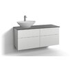 Svedbergs Forma 120cm Wall Mounted Vanity Unit with four drawers and a water trap