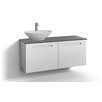 Svedbergs Forma 141cm Vanity Set with Two Drawers with Integrated Handles and Water Trap