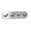 Svedbergs Serie O Wall Mounted Stainless Steel 4 Hook