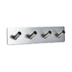 Svedbergs Serie A Wall Mounted Stainless Steel 4 Hooks