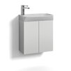 Svedbergs Skapa 51cm Wall Mounted Washbasin and Vanity Unit