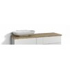 Svedbergs Forma 140cm Work Left Vanity Top