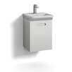 Svedbergs Forma 40cm Wall Mounted Vanity Unit including one drawer for integrated handle and water trap