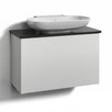 Svedbergs Forma 80cm Wall Mounted Vanity Unit including door and water trap