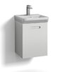 Svedbergs Forma 40cm Wall Mounted Vanity Unit with one drawer for integrated handle and basin