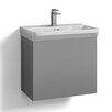 Svedbergs Forma 60cm Wall Mounted Vanity Unit and Basin including door and water trap