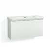 Svedbergs Forma 100cm Wall Mounted Vanity Unit and Basin with two drawers and a water trap
