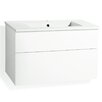 Svedbergs Forma 82cm Vanity Set with Two Drawers and a Water Trap