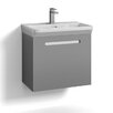 Svedbergs Forma 60cm Wall Mounted Vanity Unit and Basin with one drawer for integrated handle