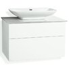 Svedbergs Forma 80cm Wall Mounted Vanity Unit with two drawers and a water trap