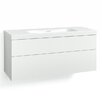 Svedbergs Forma 120cm Wall Mounted Vanity Unit with two drawers and a water trap