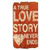 Byron Anthony Home True Love Story Wood Sign Wall Décor