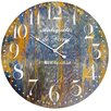 "Byron Anthony Home 23"" De Paris Wood Clock"