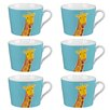 Cambridge Newport Giraffe Fine China Mug (Set of 6)