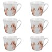 Cambridge Harrogate Squirrel Friends Fine China Mug (Set of 6)