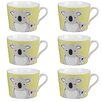Cambridge Newport Koala Fine China Mug (Set of 6)