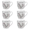 Cambridge Harrogate Cricket Fine China Mug (Set of 6)