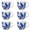 Cambridge Oxford Ashling Fine China Mug (Set of 6)