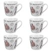 Cambridge Harrogate Golf Fine China Mug (Set of 6)