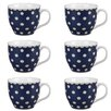 Cambridge Oxford Carnaby Fine China Mug (Set of 6)