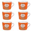 Cambridge Newport Monkey Fine China Mug (Set of 6)