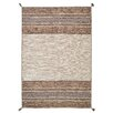 World Menagerie Grijalva Hand-Woven Beige Area Rug