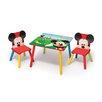 Delta Children 3-tlg. Quadratischer Kinder Tisch und Stuhl-Set Micky Maus