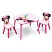 Delta Children 3-tlg. Kinder-Tischset Minnie Maus