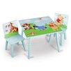 Delta Children 3-tlg. Kinder-Tischset Pu Der Bär