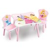 Delta Children 3-tlg. Kinder-Tisch Set Prinzessin