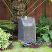 Glass Fiber Reinforced Concrete Basalt Rock Hollow Springs Pondless Fountain Kit - Liquid Art Fountains Indoor and Outdoor Fountains