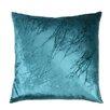 Aviva Stanoff Design Signature Baby's Breath Peri Velvet Throw Pillow