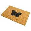 Artsy Doormats Butterfly Doormat