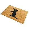 Artsy Doormats Cat Doormat
