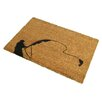 Artsy Doormats Fishing Doormat