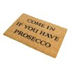 Artsy Doormats Prosecco Doormat