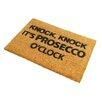 Artsy Doormats Prosecco O'Clock Doormat