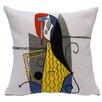 Jules Pansu Femme Dans Un Fauteuil Cushion Cover