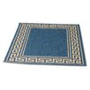 Rugstack Patio Blue/Gold Area Rug
