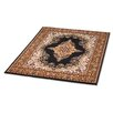 Rugstack Shiraz Black Area Rug