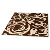 Rugstack Picasso Brown/Cream Area Rug