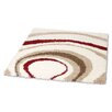Rugstack Chill Ivory/Red Area Rug