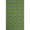 Pasargad NY Hand-Knotted Green/Blue Area Rug