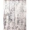 Pasargad NY Hand-Knotted Gray Area Rug
