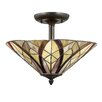Quoizel Victory 2 Light Semi Flush Mount