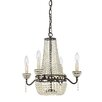 Quoizel Opera 4 Light Crystal Chandelier