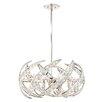 Quoizel Crescent Platinum 6 Light Globe Pendant