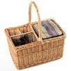 Greenfield Regatta Willow Picnic Hamper for Two People