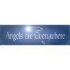 Graffitee Studios Spiritual/Inspiration Angels are Everywhere Textual Art on Wrapped Canvas