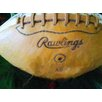 Graffitee Studios Man Cave 'Rawlings Football' Painting Print on Wrapped Canvas